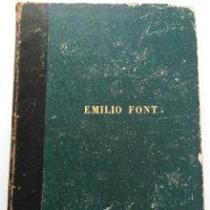 Partituras musicales: PARTITURA DE CANTO Y PIANO DE ANNA BOLENA DE DONIZETTI (PARÍS, 1859). Lote 131791218