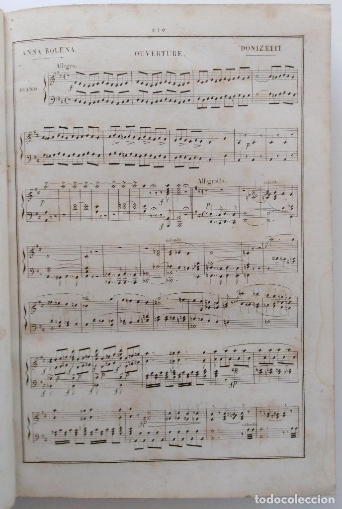 Partituras musicales: DONIZETTI: ANNA BOLENA. PARTITURA DE CANTO Y PIANO. (PARÍS, 1859) - Foto 4 - 131791218