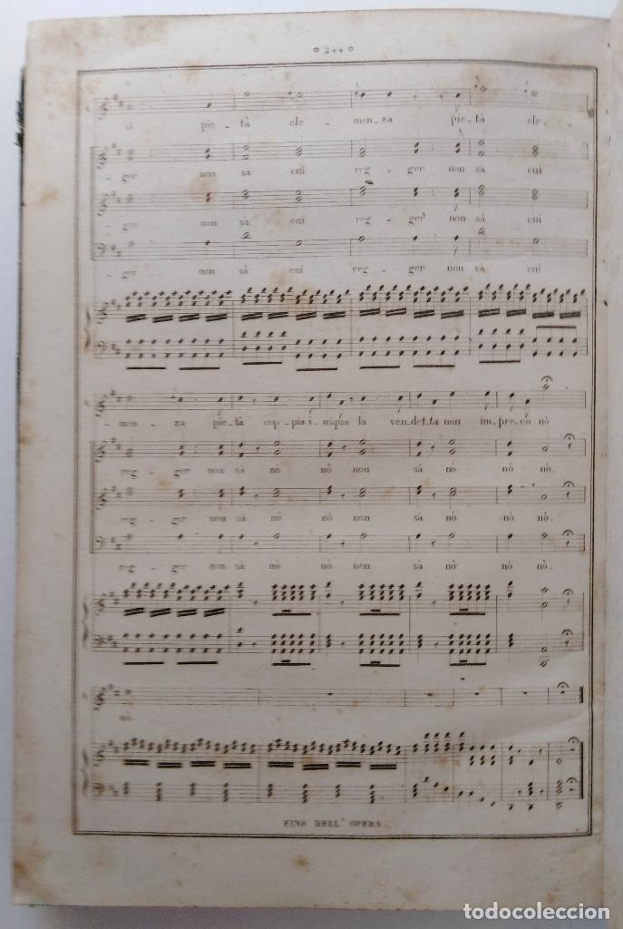Partituras musicales: DONIZETTI: ANNA BOLENA. PARTITURA DE CANTO Y PIANO. (PARÍS, 1859) - Foto 7 - 131791218