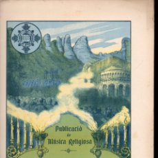 Partituras musicales: MÚSICA RELIGIOSA : LLUIS ROMEU - LES CINC JACULATÒRIES DEL MES DE MARIA (FOMENT DE PIETAT). Lote 133345314