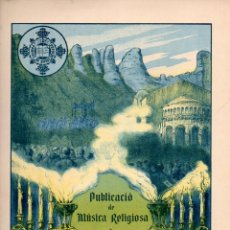 Partituras musicales: MÚSICA RELIGIOSA : EUDALT SERRA - TRISAGI A LA VERGE SANTÍSSIMA (FOMENT DE PIETAT). Lote 133345562