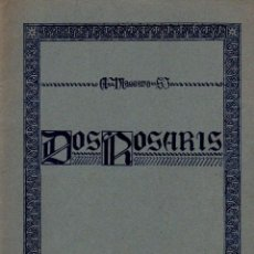 Partituras musicales: MASSANA : DOS ROSARIS (BOILEAU). Lote 133432270