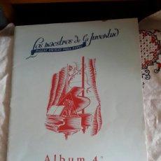 Partituras musicales: LOS MAESTROS DE LA JUVENTUD, ALBUM N4 DE 1966. Lote 135813846