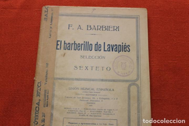 El Barberillo De Lavapies Partitura Pdf Download