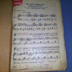 Partituras musicales: LIBRO ANTIGUO RECOPILATORIO DE PARTITURAS PIANO CIRCA 1870 UNICO EJEMPLAR EN VENTA. Lote 140223306