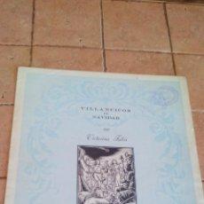 Partituras musicales: BAILE DE PASTORES - VILLANCICO DE NAVIDAD POR VICTORINA FALCO - EDITORIAL MUSICA MODERNA. Lote 140709386
