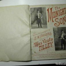 Partituras musicales: THE MIDNIGHT SON DE E.W. ROGERS Y SWEETHEART MAY DE LESLIE STUART POR VESTA TILLLEY. 1897 Y 1895. Lote 141146118