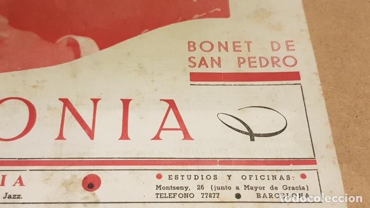 Partituras musicales: PARTITURA / BONET DE SAN PEDRO. AGONÍA ( FOX ) EDICIONES COLUMBIA. - Foto 2 - 143822558