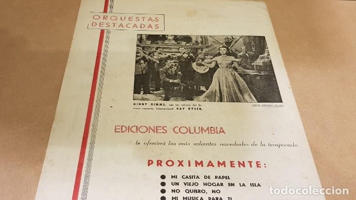 Partituras musicales: PARTITURA / BONET DE SAN PEDRO. AGONÍA ( FOX ) EDICIONES COLUMBIA. - Foto 5 - 143822558
