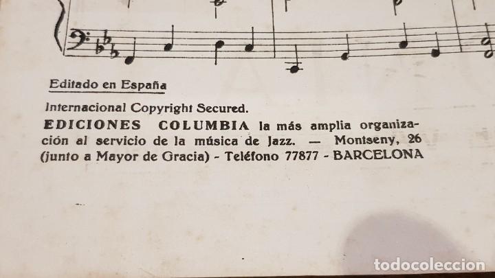 Partituras musicales: PARTITURA / BONET DE SAN PEDRO. AGONÍA ( FOX ) EDICIONES COLUMBIA. - Foto 4 - 143822558