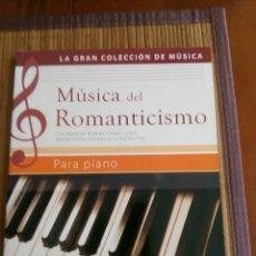 Partituras musicais: MÚSICA DEL ROMANTICISMO PARA PIANO, PARTITURA. Lote 144790374