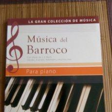 Partituras musicais: MÚSICA DEL BARROCO PARA PIANO, PARTITURA. Lote 144790610