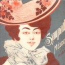Partituras musicales: LEONARDI : SYMPATHIE (MUSICAL EMPORIUM). Lote 145913938