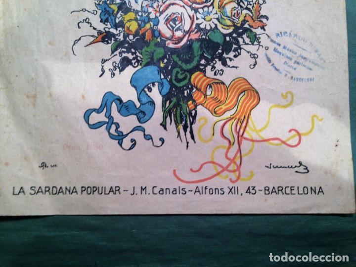Partituras musicales: LA SARDANA DELS POMELLS DE JOVENTUT - JM GASSO - EDIT - LA SARDANA POPULAR - Foto 3 - 146575246