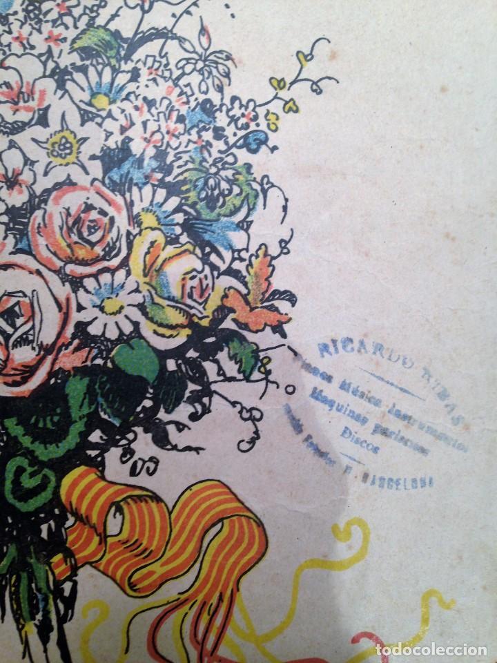Partituras musicales: LA SARDANA DELS POMELLS DE JOVENTUT - JM GASSO - EDIT - LA SARDANA POPULAR - Foto 4 - 146575246