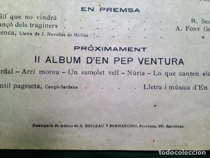Partituras musicales: LA SARDANA DELS POMELLS DE JOVENTUT - JM GASSO - EDIT - LA SARDANA POPULAR - Foto 8 - 146575246