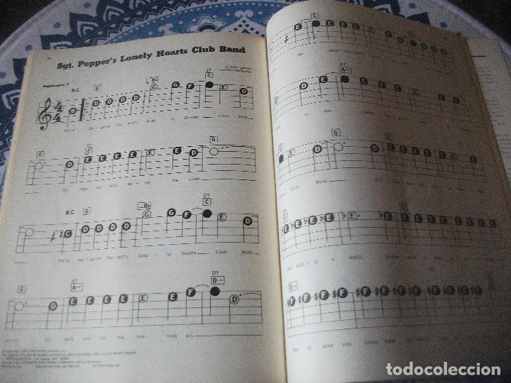 Partituras musicales: BEATLES , PARTITURAS LIBRETO MADE IN USA, HECHO EN USA, LENNON, MCcartney - Foto 2 - 147373650