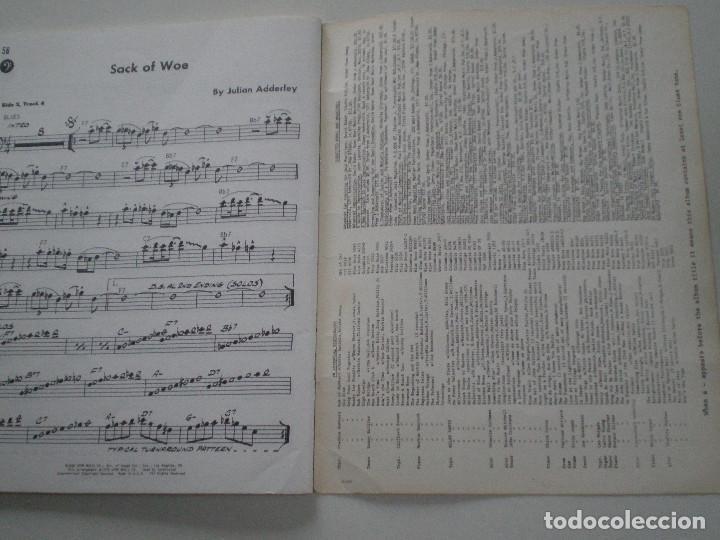 Partituras musicales: CANNOBALL ADDERLEY- LIBRETO DE PARTITURAS USA JAMEY AEBERSOLD 1978 // JAZZ IMPROVISATIONS - Foto 5 - 147712426