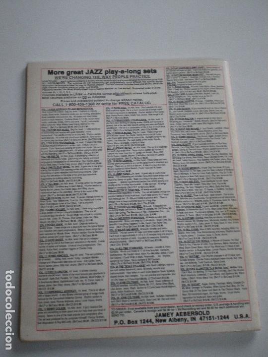 Partituras musicales: CANNOBALL ADDERLEY- LIBRETO DE PARTITURAS USA JAMEY AEBERSOLD 1978 // JAZZ IMPROVISATIONS - Foto 6 - 147712426