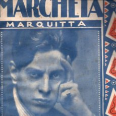 Partituras musicales: MARCHETA (SALABERT, PARIS, 1923). Lote 148310382