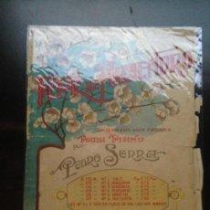 Partituras musicales: FLOR DE ALMENDRO - PEDRO SERRA - IBERIA MUSICAL - ÚNICA. Lote 149384738