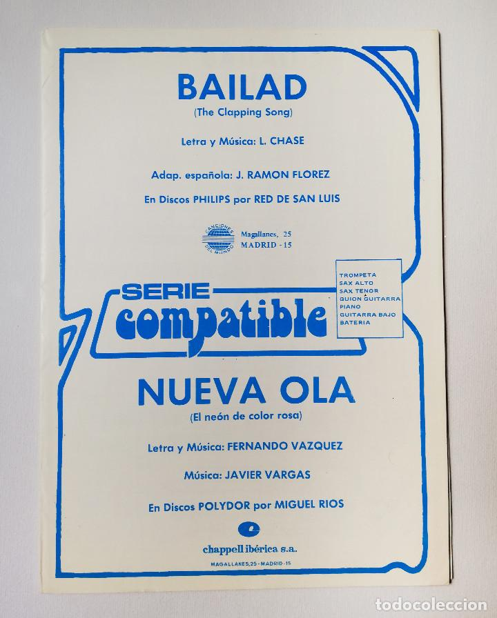 PARTITURAS - MIGUEL RIOS - NUEVA OLA (Música - Partituras Musicales Antiguas)