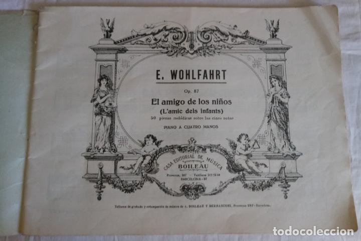 Partituras musicales: WOHLFARHRT - EL AMIGO DE LOS NIÑOS - OP 87 - PIANO A 4 MANOS - Foto 2 - 155365598
