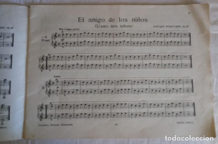 Partituras musicales: WOHLFARHRT - EL AMIGO DE LOS NIÑOS - OP 87 - PIANO A 4 MANOS - Foto 7 - 155365598