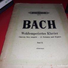 Partitions Musicales: PARTITURAS MUY ANTIGUAS DE BACH. Lote 155751838