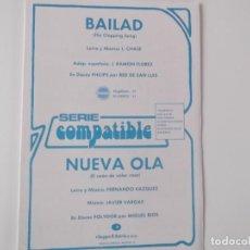 Partituras musicales: BAILAD (RED DE SAN LUIS) / NUEVA OLA (MIGUEL RIOS). Lote 155933730