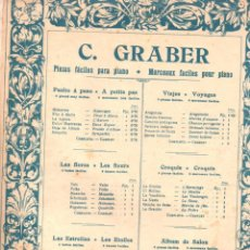 Partituras musicales: GRABER : ARAGONESA. Lote 156592942
