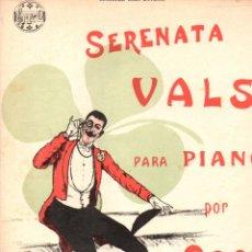 Partituras musicales: COOTE : SERENATA VALS PARA PIANO (DOTESIO). Lote 156593210