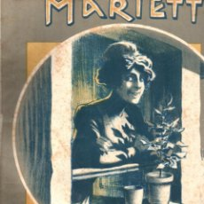 Partituras musicales: RHEIN, STERNY ET COURQUIN : MARIETTE POLKA POUR PIANO (BOSC, PARIS, 1910). Lote 156599922