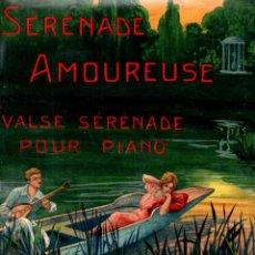 Partituras musicales: CLIFTON WORSLEY : SERENADE AMOUREUSE (IBERIA, 1917) ILUSTRACIÓN CROMOLITOGRÁFICA. Lote 156602778