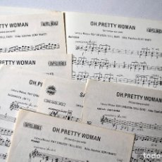 Partituras musicales: PARTITURAS PRETTY WOMAN. Lote 156760730