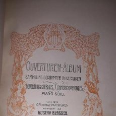 Partituras musicais: OUVERTUREN-ALBUM. PIANO SOLO. SAMMLUNG BERÜHMTER OUVERTUREN. OUVERTURES CÉLÈBRES - FAMOUS OVERTURES.. Lote 157075490
