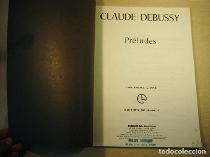 Partituras musicales: CLAUDE DEBUSSY. PRÉLUDES. Deuxième livre. - Foto 2 - 158778194