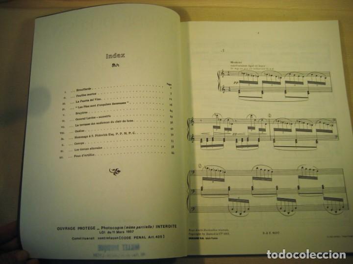 Partituras musicales: CLAUDE DEBUSSY. PRÉLUDES. Deuxième livre. - Foto 3 - 158778194