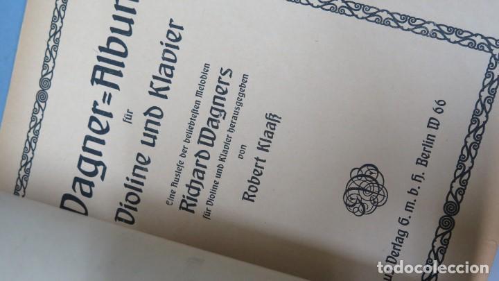 Partituras musicales: WAGNER-ALBUM FUR VIOLINE UND KLAVIER - Foto 2 - 159275126