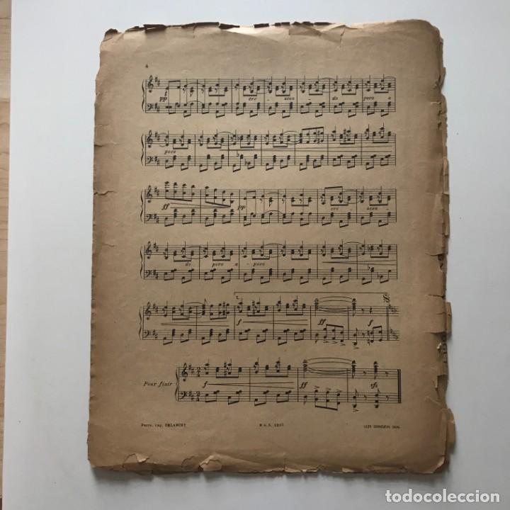 Partituras musicales: Cordoba. paso doble flamenco 27,4x35 cm - Foto 6 - 159388378
