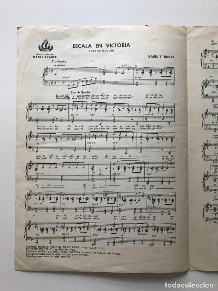 Partituras musicales: Escala en Victoria. Ana Maria González 23,4x32,7 cm - Foto 3 - 159390070