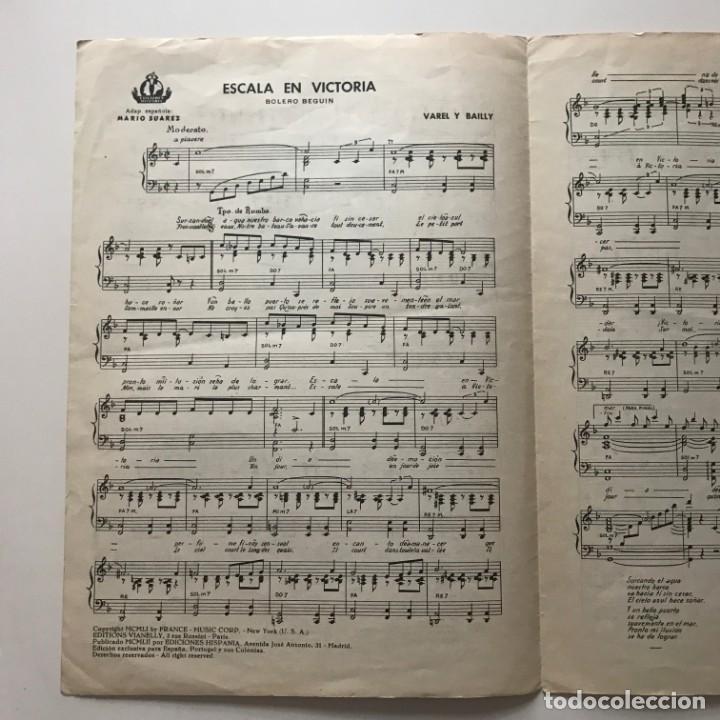 Partituras musicales: Escala en Victoria. Ana Maria González 23,4x32,7 cm - Foto 5 - 159390070
