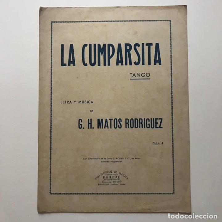 La Cumparsita. Tango 23,1x31,8 cm - 159390626