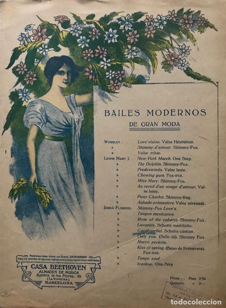 CARABANCHEL. SCHOTIS MADRILEÑO 24,4X33,8 CM (Música - Partituras Musicales Antiguas)