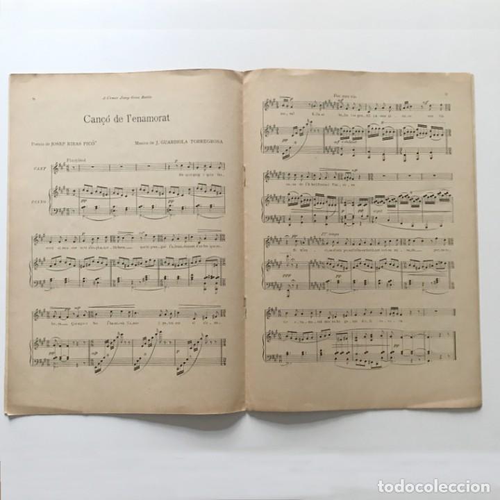 Poncelles. Cinc cançons per a cant i piano 22,3x32,2 cm