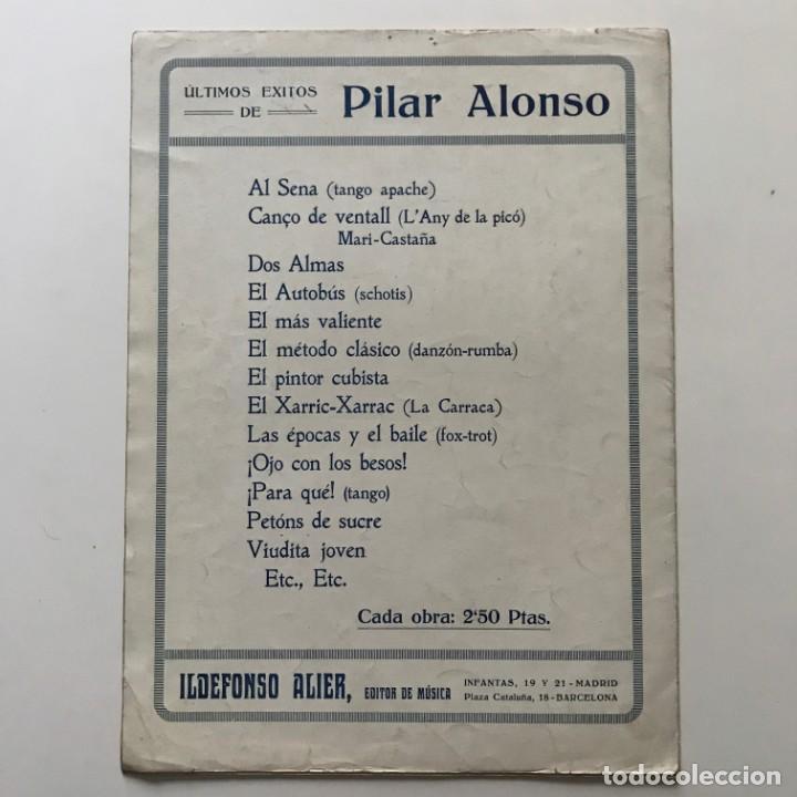 Partituras musicales: El más valiente. Letra de Delfin Villán. Música de Vicente Quirós 24,7x33,5 cm - Foto 4 - 159433942