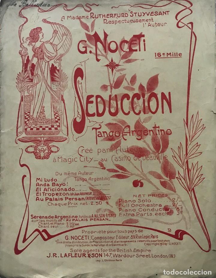 Seducción. Tango argentino. G. Noceti 27×35 cm