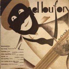 Partituras musicales: EL BUFÓN. PARTITURA MUSICAL ANTIGUA. Lote 159436794