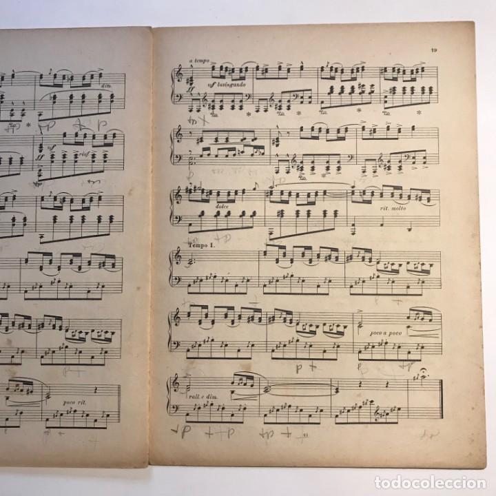 Partituras musicales: Granados. Danzas españolas. Vol. IV. 23,4x31,5 cm - Foto 4 - 159446310