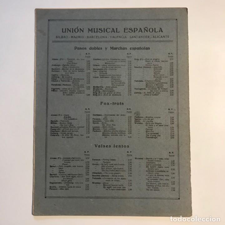 Partituras musicales: Granados. Danzas españolas. Vol. IV. 23,4x31,5 cm - Foto 5 - 159446310
